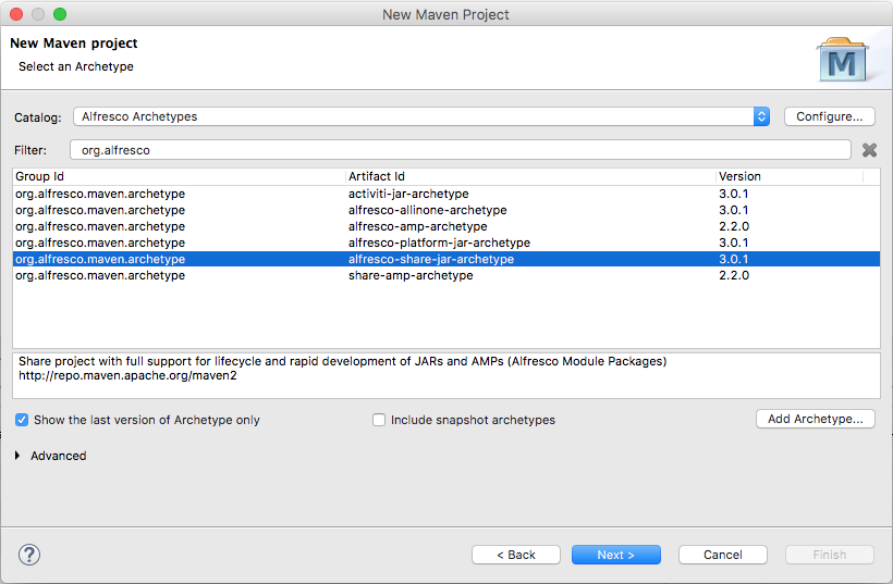 Getting Started with the Alfresco Maven SDK   ECM Architect
