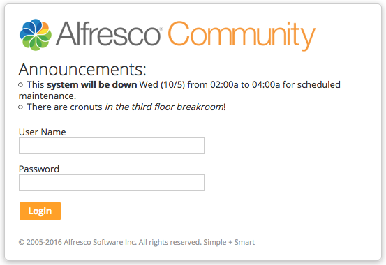 Alfresco Share Customization   ECM Architect